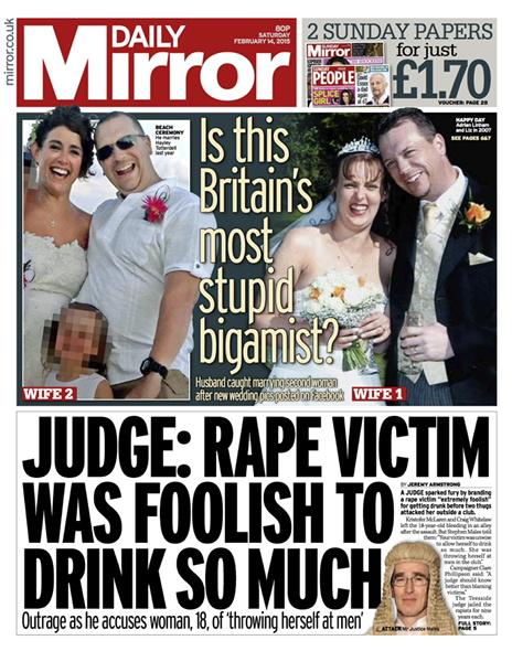 Mirror judge rape